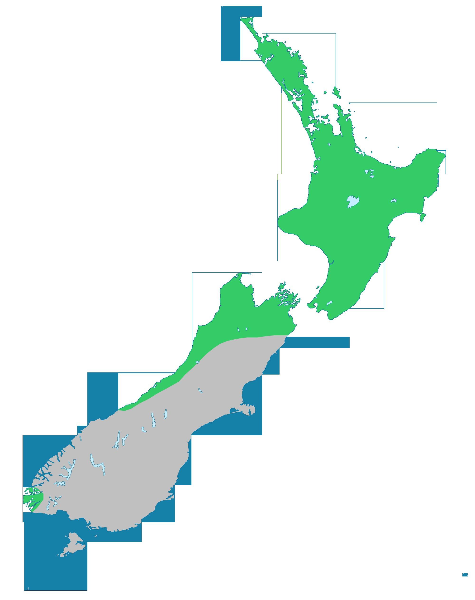 Map of ti ngahere