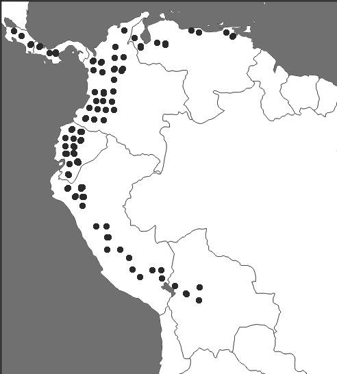 Map of quinine