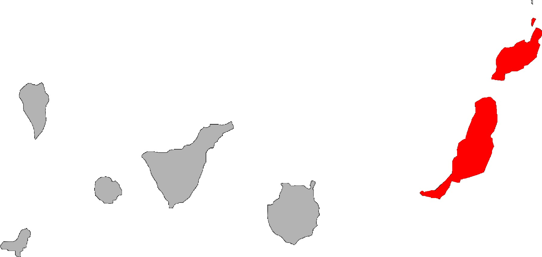 Map of East Canary Gecko