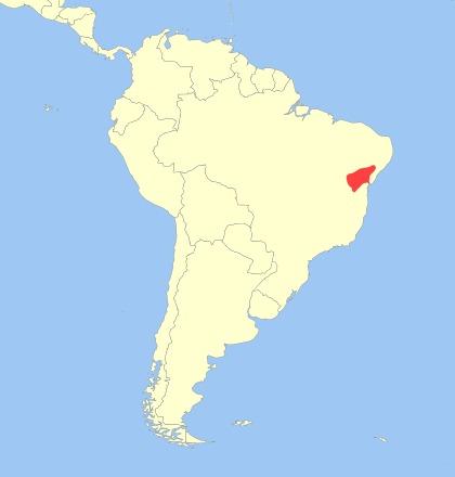Map of Barbara Brown's Titi