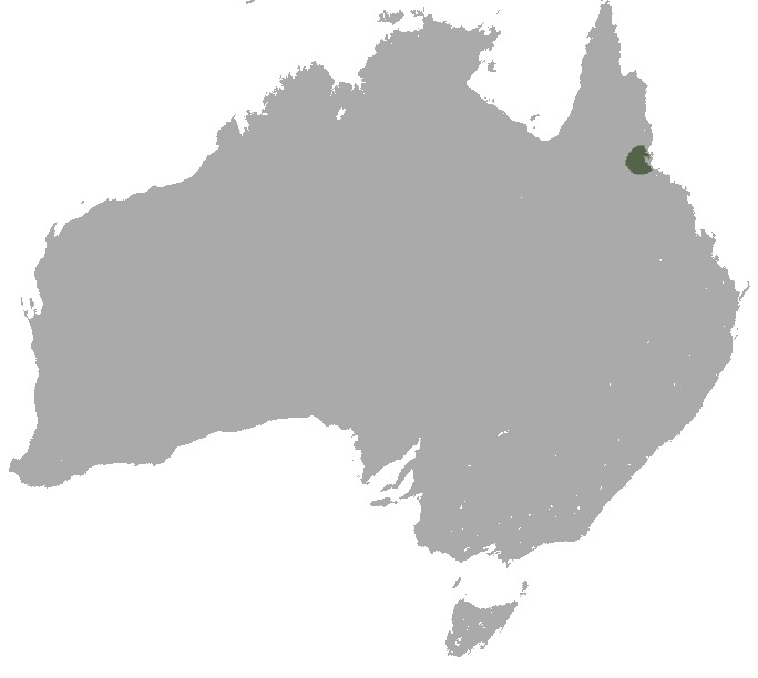 Map of Mount Claro Rock Wallaby