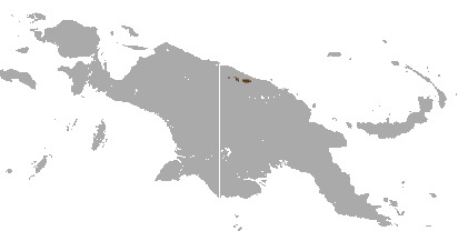 Map of Scott's Tree-kangaroo