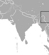 Map of Pygmy Brown-toothed Shrew