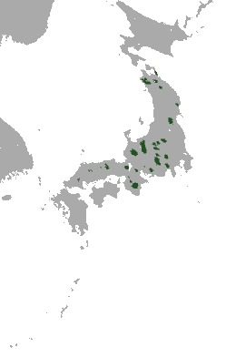 """<span class=""""translation_missing"""" title=""""translation missing: en.medium.untitled.map_image_of, page_name: &lt;i&gt;Euroscaptor mizura&lt;/i&gt; (Günther 1880)"""">Map Image Of</span>"""