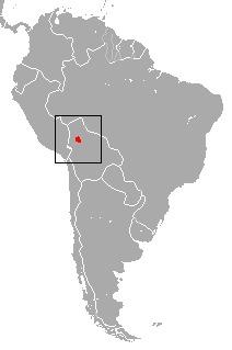 Map of Beni Titi Monkey