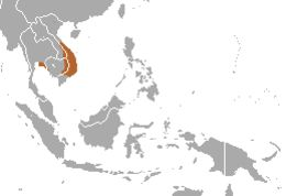 Map of treeshrews