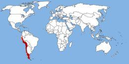 Map of Culpeo