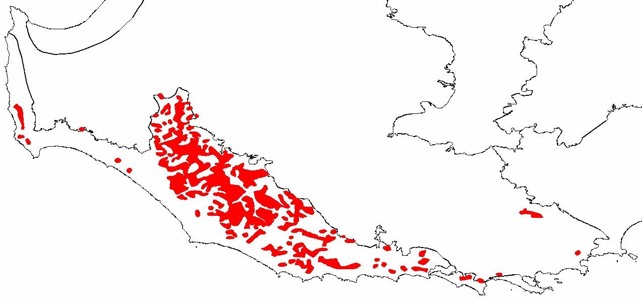 Map of karri