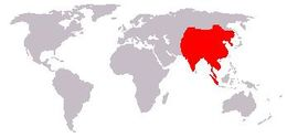 Map of Cuon