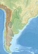 Map of Chacoan mara