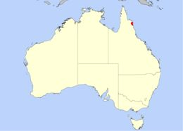 Map of <i>Drosera prolifera</i> C. T. White