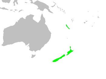 Map of Libocedrus