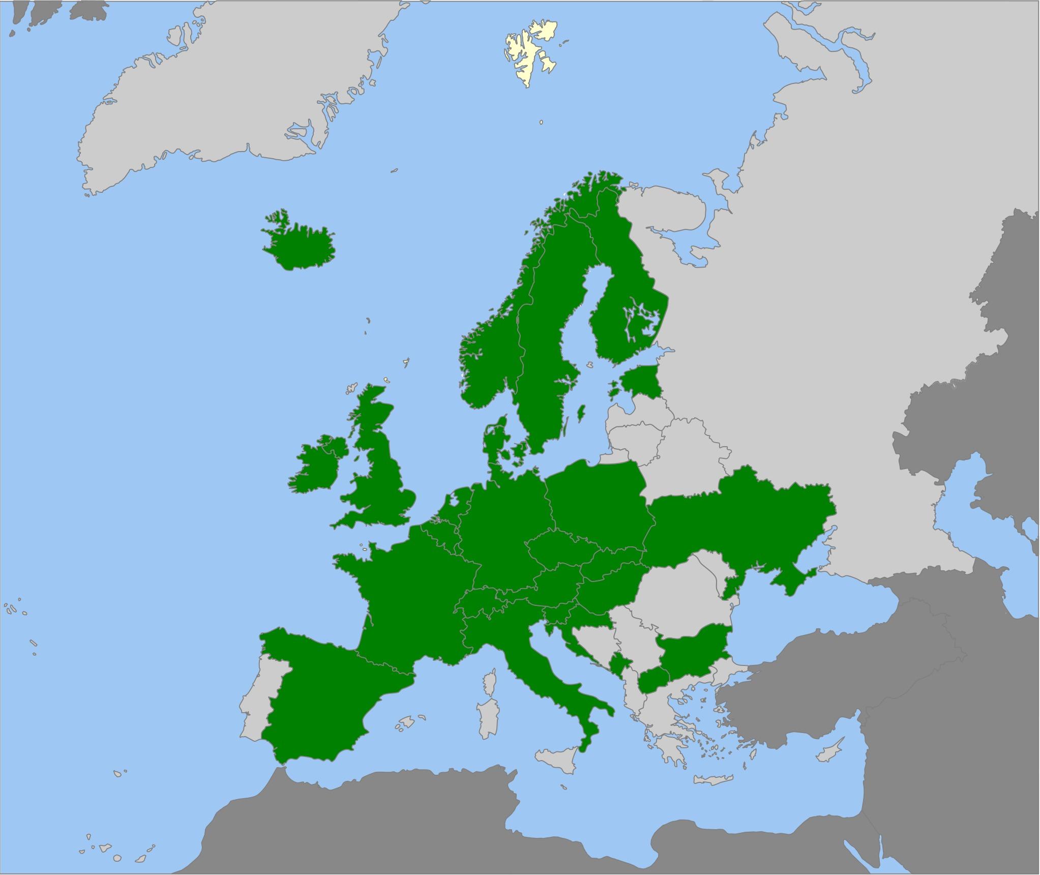 Map of grass green russula