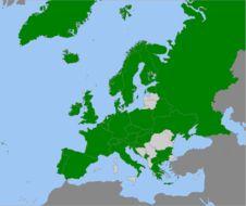 Map of <i>Russula delica</i> Fr. 1838