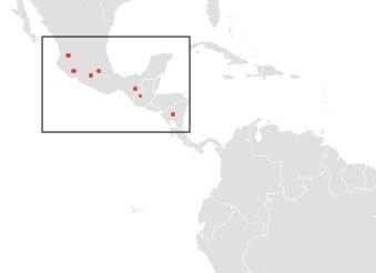 Map of Aztec Mastiff Bat