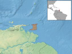Map of Trinidad Spiny Rat