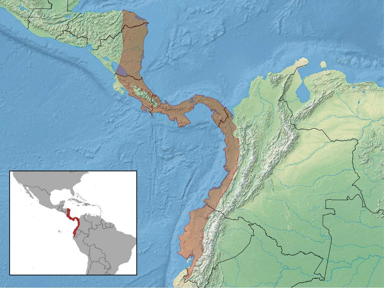 Map of Proechimys