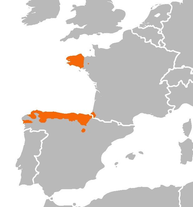 Map of Escargot de Quimper
