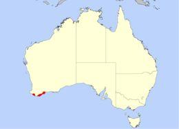 Map of <i>Drosera roseana</i>