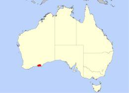 Map of <i>Drosera sargentii</i>