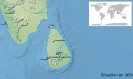 Map of <i>Pseudophilautus abundus</i> (Manamendra-Arachchi & Pethiyagoda 2005)