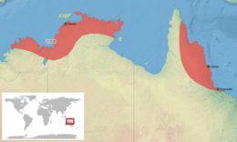 Map of Javelin Frog