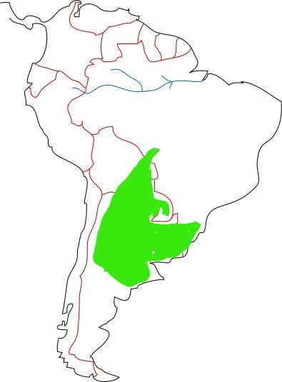 Map of Azara's Fox