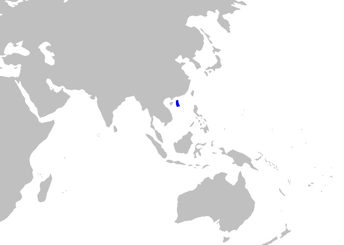 Map of Smalldorsal Catshark