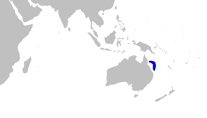 Map of Pale Spotted Catshark