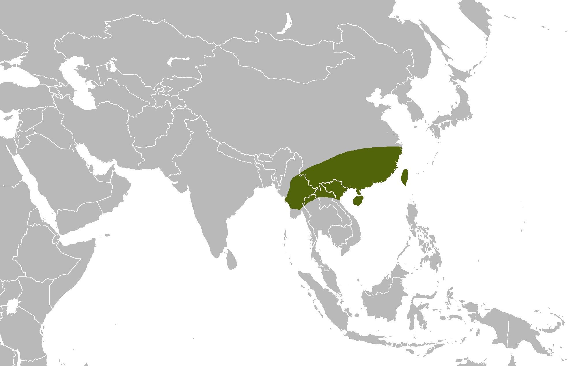 """<span class=""""translation_missing"""" title=""""translation missing: en.medium.untitled.map_image_of, page_name: &lt;i&gt;Bungarus multicinctus&lt;/i&gt; Blyth 1861"""">Map Image Of</span>"""