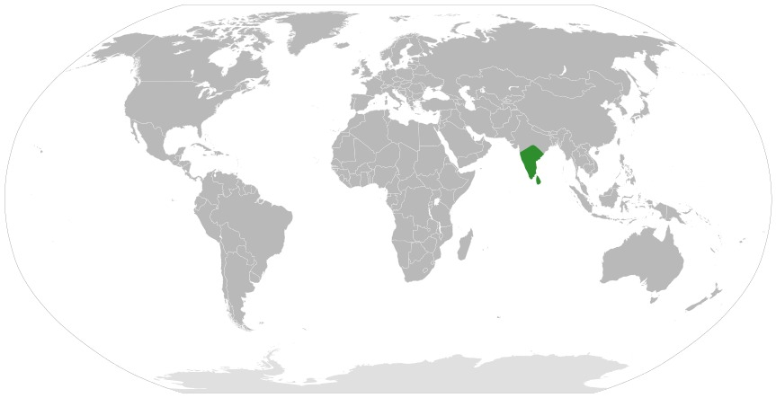 Map of Theriophonum
