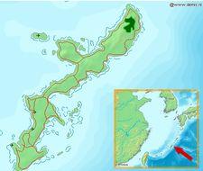 Map of <i>Sapheopipo noguchii</i>