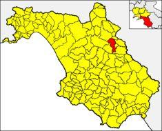 Map of Yellow tube sponges