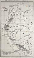 Map of cinchona
