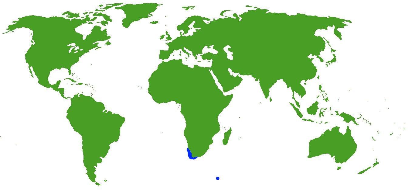 Map of <i>Enteroctopus magnificus</i> (Villanueva, Sánchez & Compagno Roeleveld 1992)