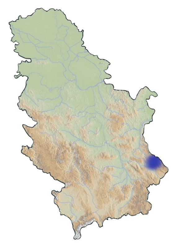 Map of <i>Lycaena helle</i>