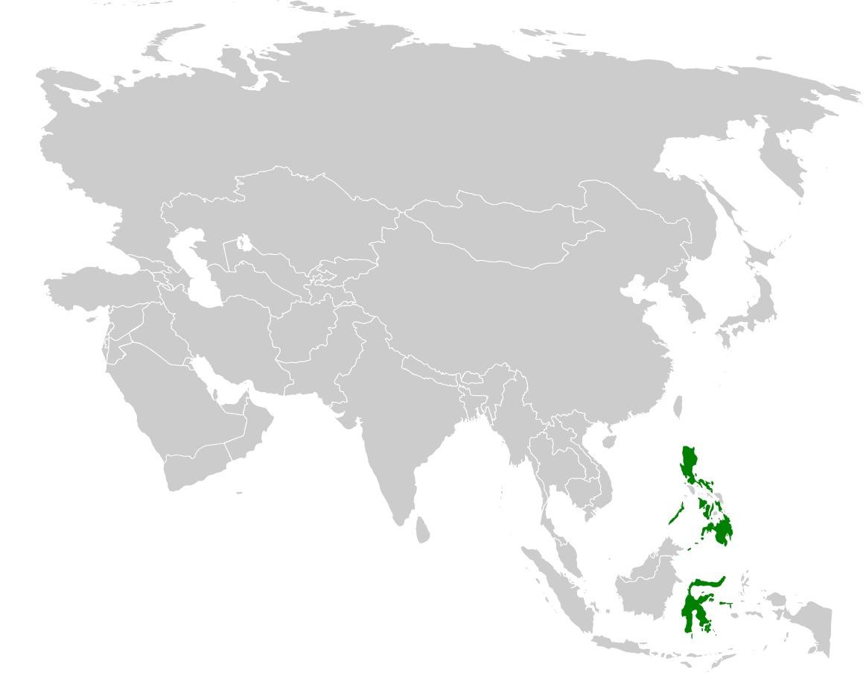 Map of Citrine Canary-Flycatcher