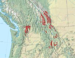 Map of Alpine Larch
