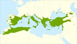 Map of prickly juniper