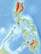 Map of Mountain Shrike