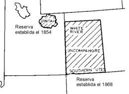 Map of Ute