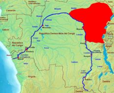 Map of Dent's Monkey