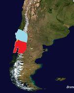 Map of Monito del Monte