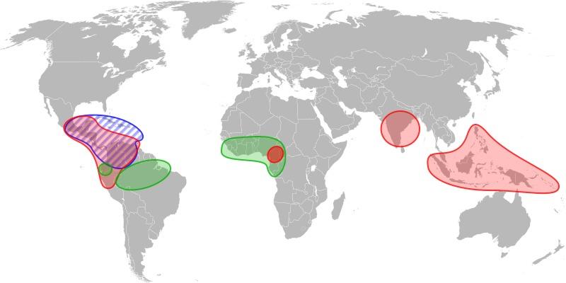 Map of copoasu