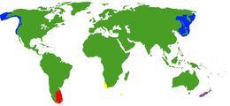 Map of Enteroctopodidae