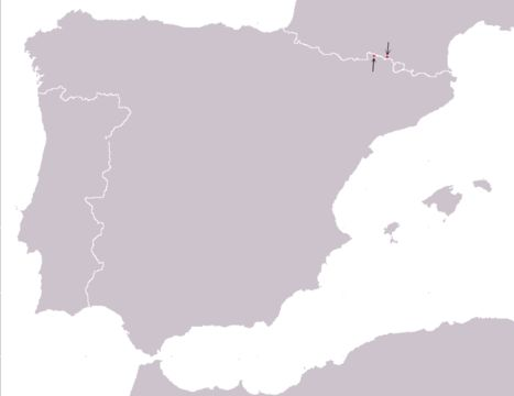 Map of Aran Rock Lizard
