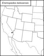 Map of Kelso Shieldback